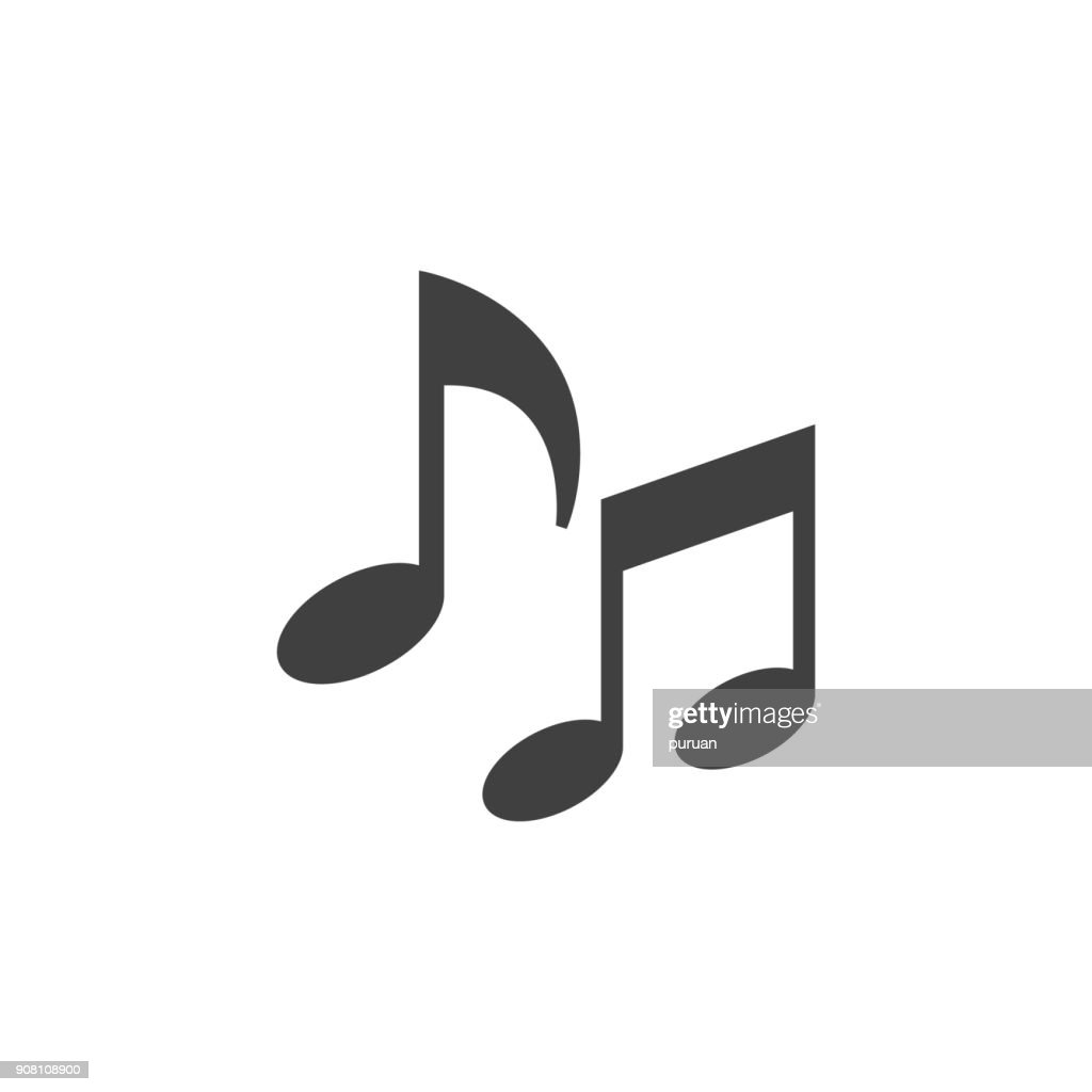 Flat icon - Music notes