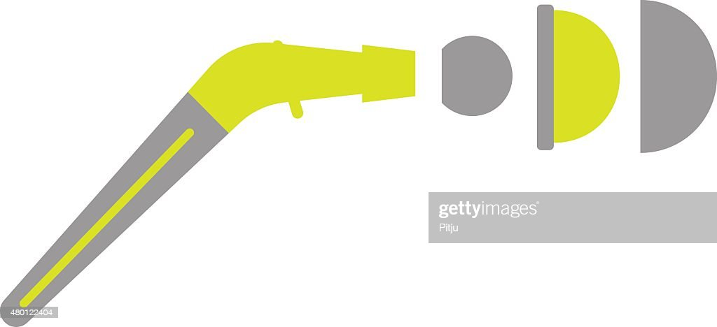 Flat Icon of Artificial Joint on White Background
