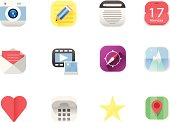 Flat Icon set for your web/app!