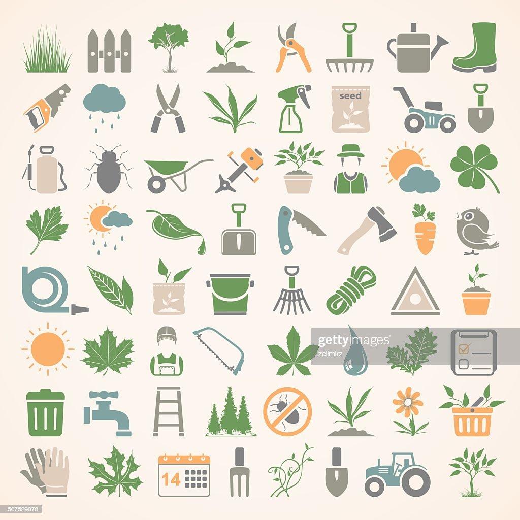 Flat Icons - Gardening