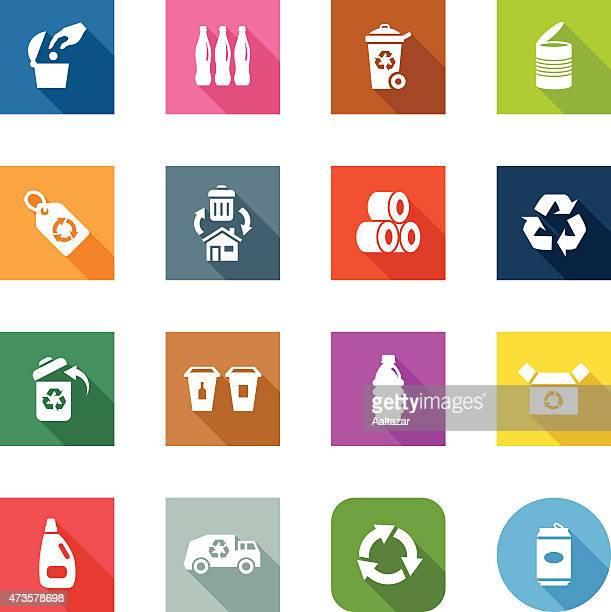 Flat Icons - Recycle