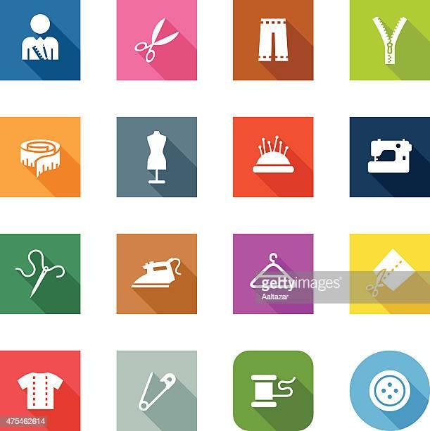 フラットアイコン-調整 - ジャージ素材点のイラスト素材/クリップアート素材/マンガ素材/アイコン素材