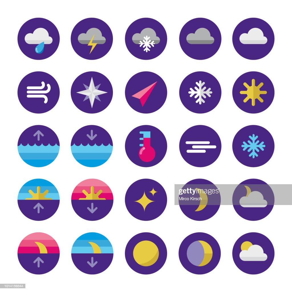 Flat Iconset Wetter