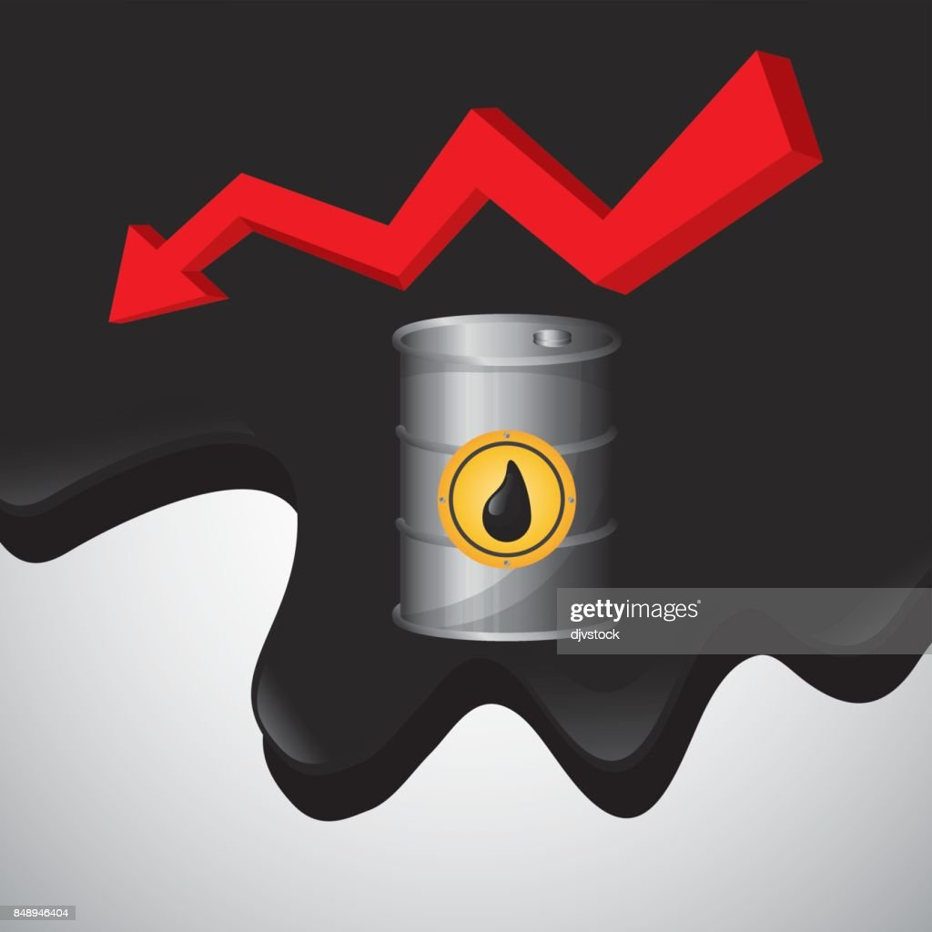 Flat Illustration About Oil Price Petroleum And Gas Concepts