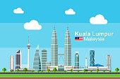 Flat Kuala Lumpur Cityscape