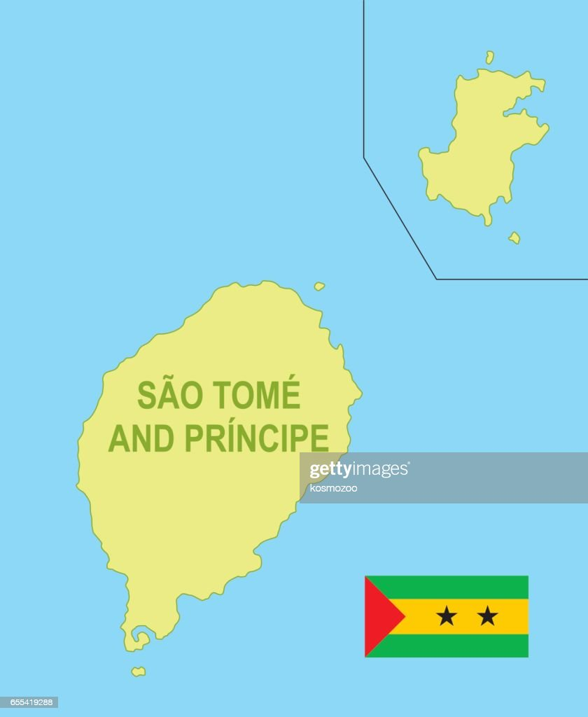 Flat Map Of São Tomé And Príncipe With Flag stock ... Sao Tome And Principe Map on djibouti map, senegal map, rwanda map, namibia map, swaziland map, cape of good hope map, kenya map, nubian desert map, mauritius map, burkina faso map, saint kitts and nevis map, togo map, sierra leone map, lake tanganyika map, atlas mountains map, cape verde map, seychelles map, saudi arabia map, mount kilimanjaro map, falkland islands malvinas map,