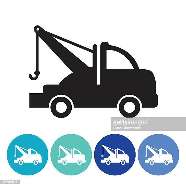 Tow Truck Stock Illustrations And Cartoons Getty Images