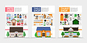 Flat Stores Posters