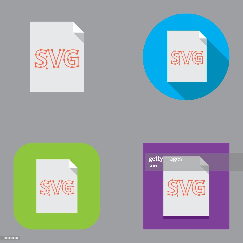 Flat SVG (Scalable Vector Graphics) icons | Kalaful series