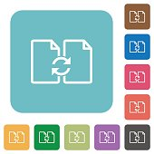 Flat Swap documents icons