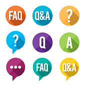 FAQ Flat Symbols
