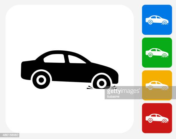 30 Top Flat Tire Stock Illustrations Clip Art Cartoons Icons
