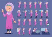 flat type Arab girl_1