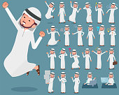 flat type Arab man_1