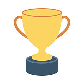 TROPHY Flat Vector Icons