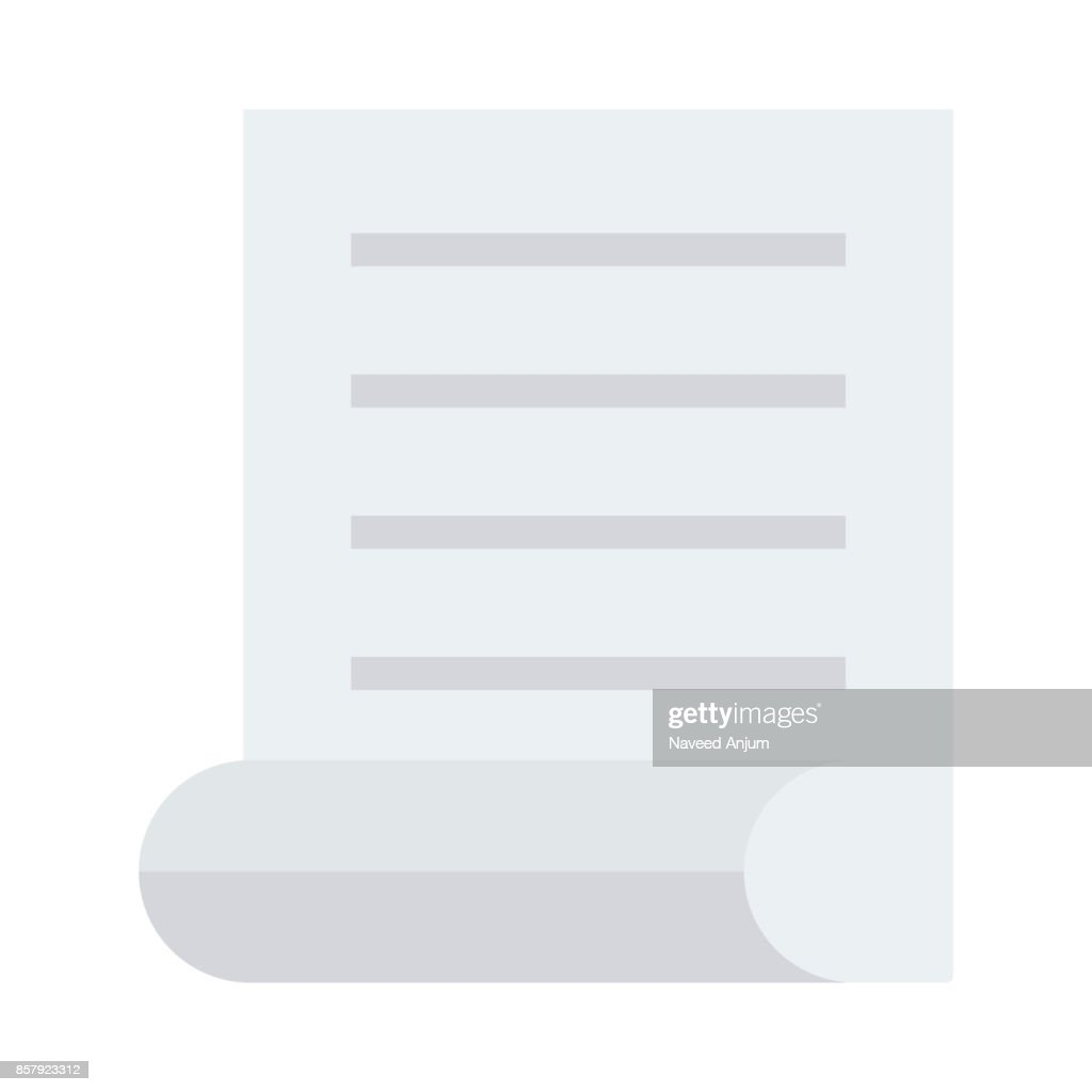 DOCUMENT Flat Vector Icons