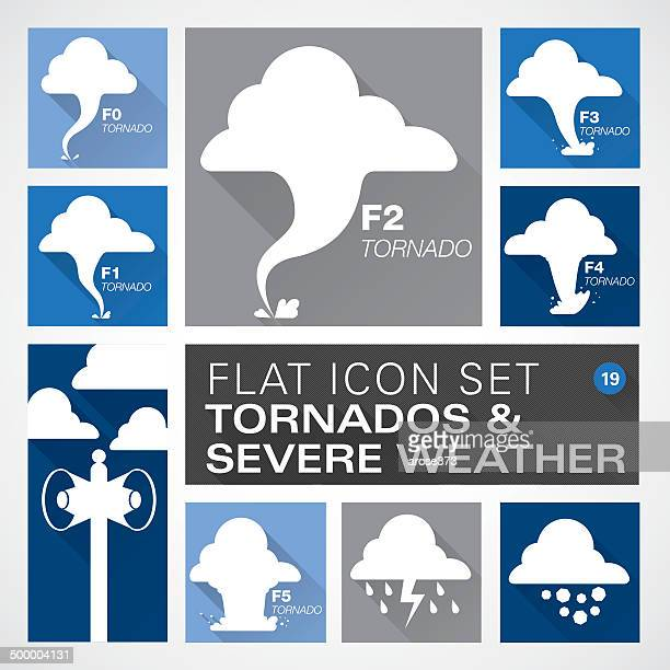 Flat19 icons - Tornados & Severe Weather