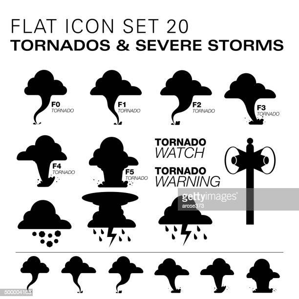 flat20 icons- tornados & severe storms - hailstone stock illustrations, clip art, cartoons, & icons