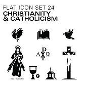 Flat24-Christianity and Catholic Religious