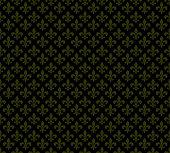 Fleur de lis dark seamless pattern background