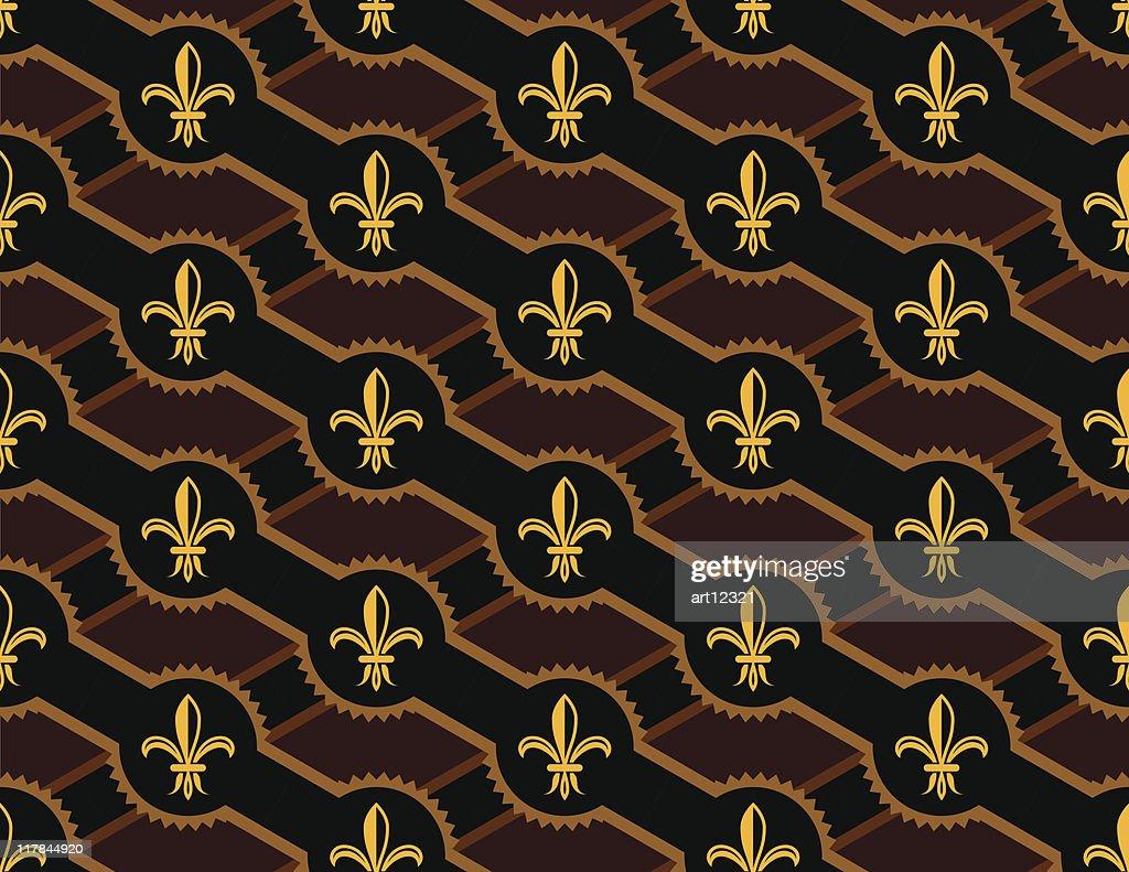 fleur de lis design pattern