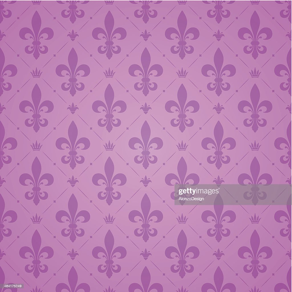 fleur de lys pattern vector art getty images