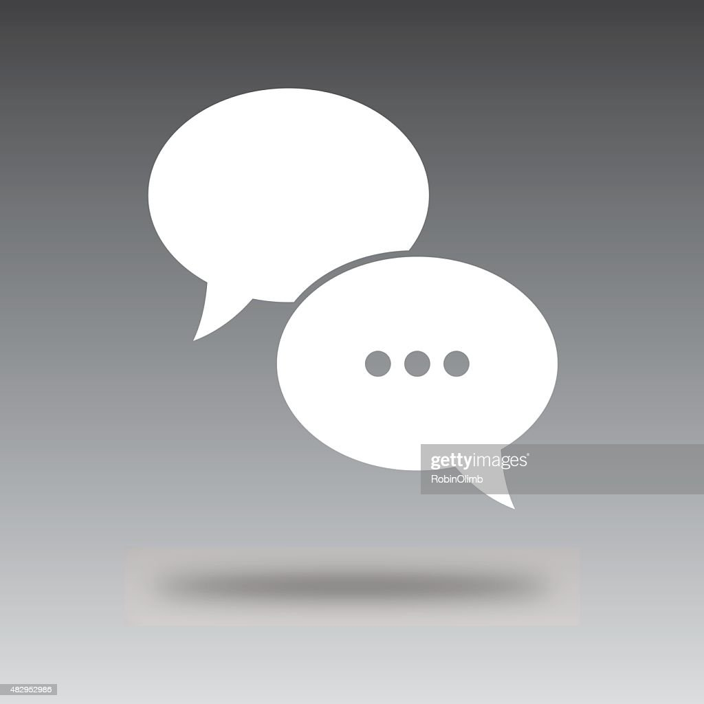 Floating Message Bubbble icon