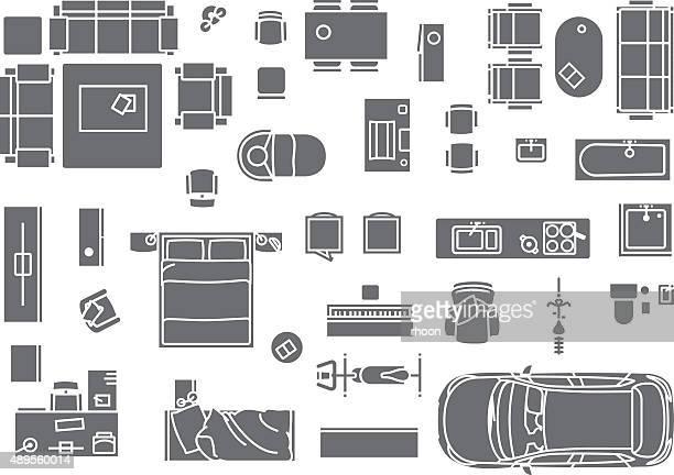 Floor Plan, Furniture