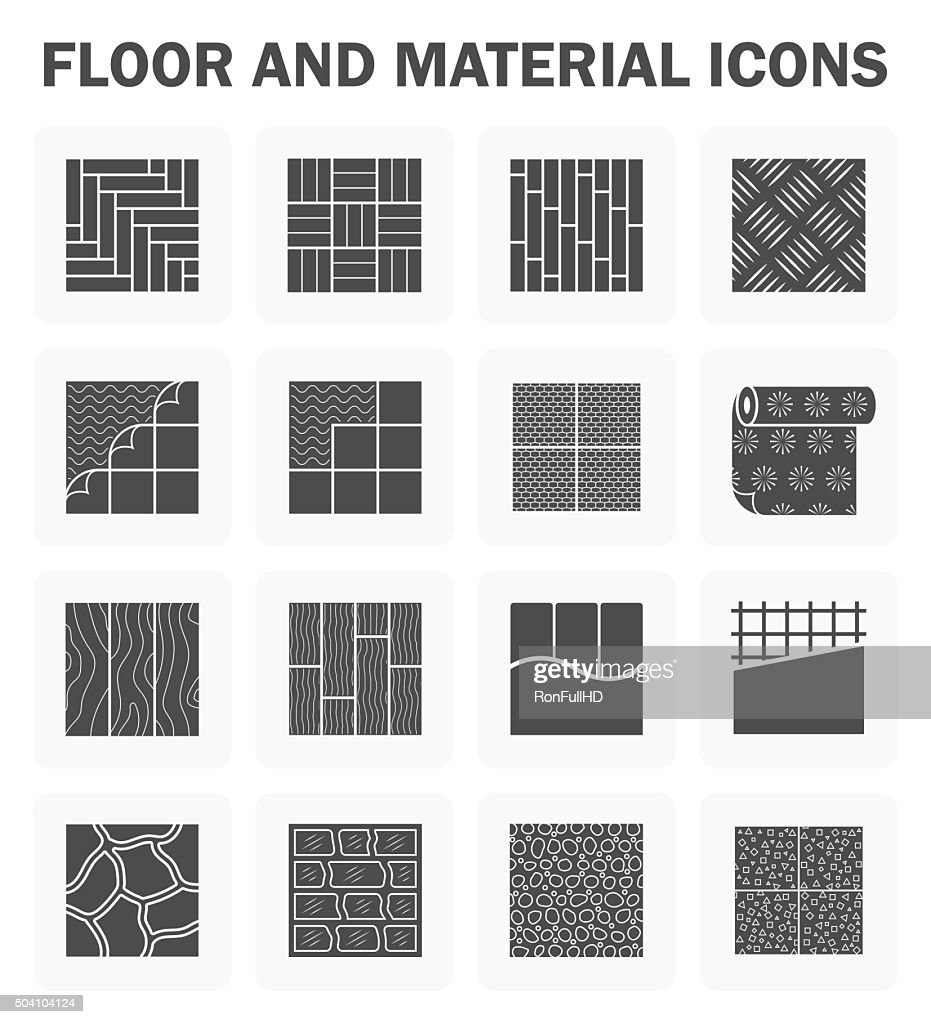 Floor vector icons
