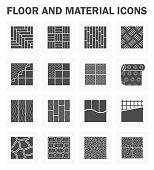 Floor vector icons