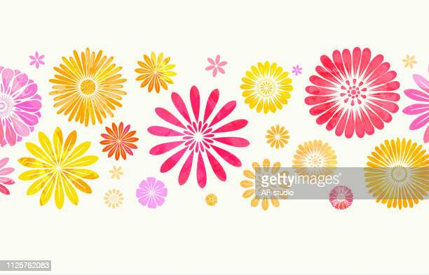 floral background - flower stock illustrations