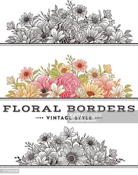 Floral Grenze