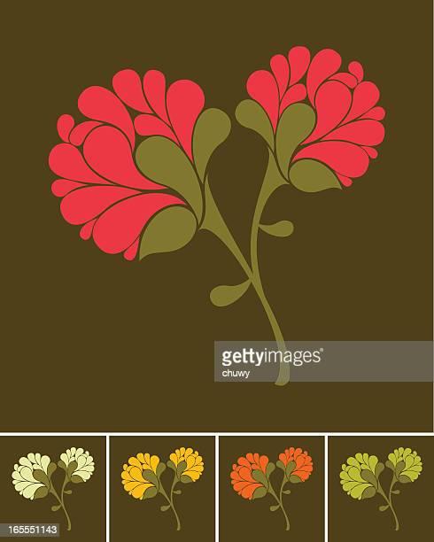 ilustraciones, imágenes clip art, dibujos animados e iconos de stock de ramo de flores - chuwy
