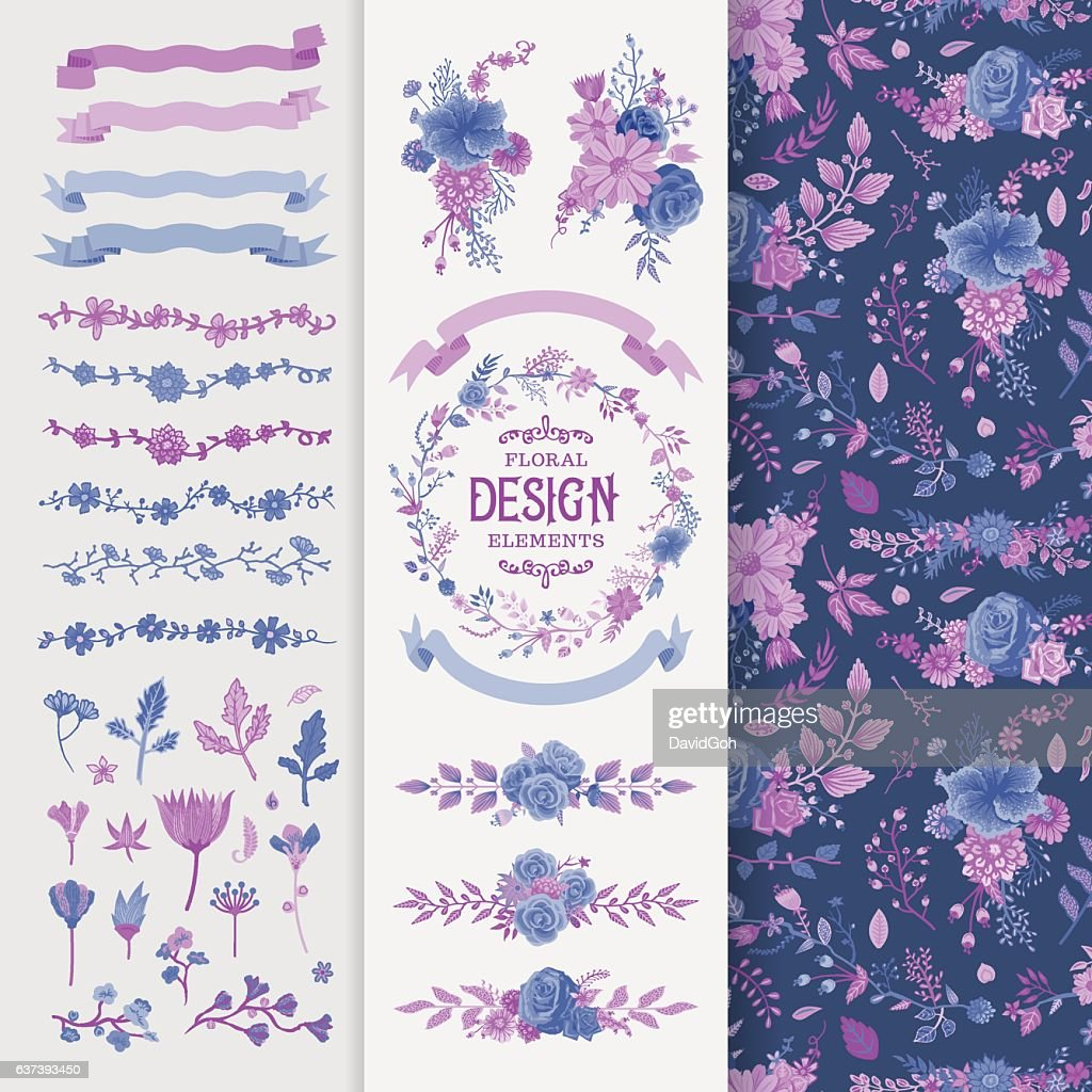 Floral Design Elements Toolset