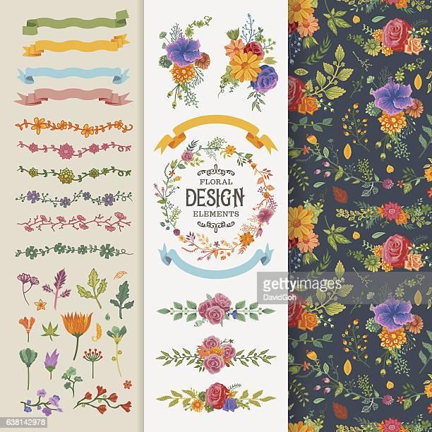 Floral Design Elements Toolset