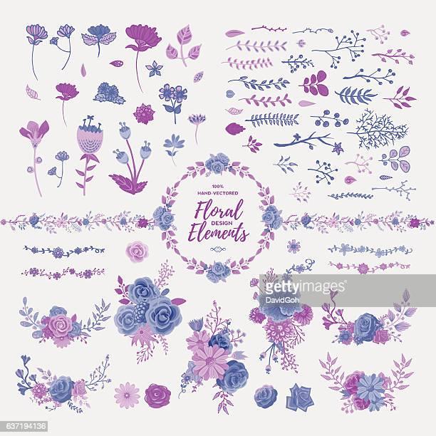 Floral Design-Elemente