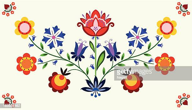 floral element - craft product stock illustrations