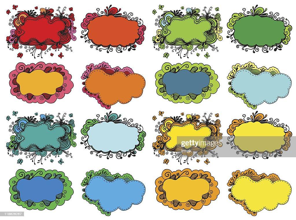 floral frame set