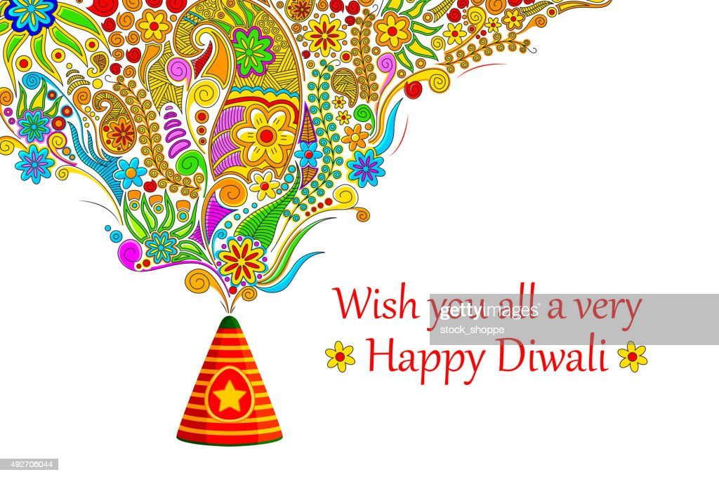Floral Happy Diwali