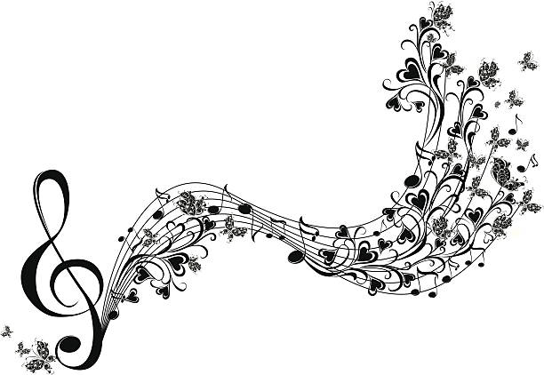 Free music flowers Images, Pictures, and Royalty-Free
