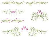 floral ornaments