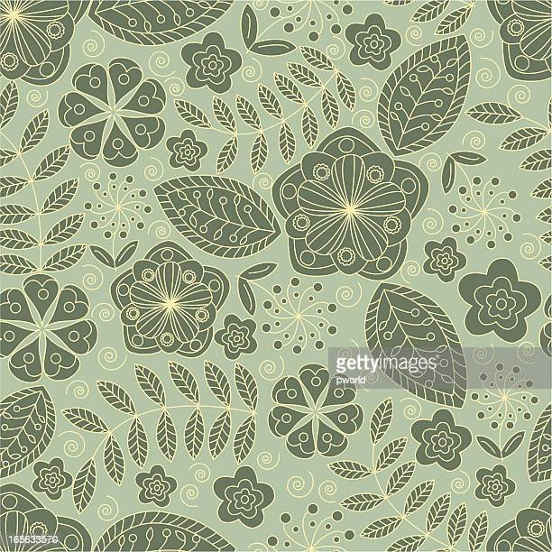 floral pattern - exclusive to istockphoto - istock_photo stock illustrations