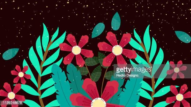 Floral pattern, spring summer background