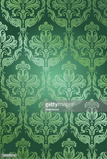 floral pattern - brocade stock illustrations