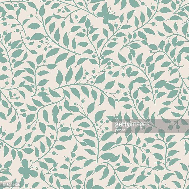 floral pattern . - floral pattern stock illustrations