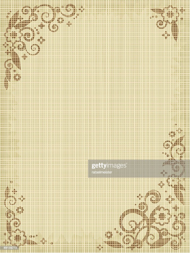Floral print canvas background