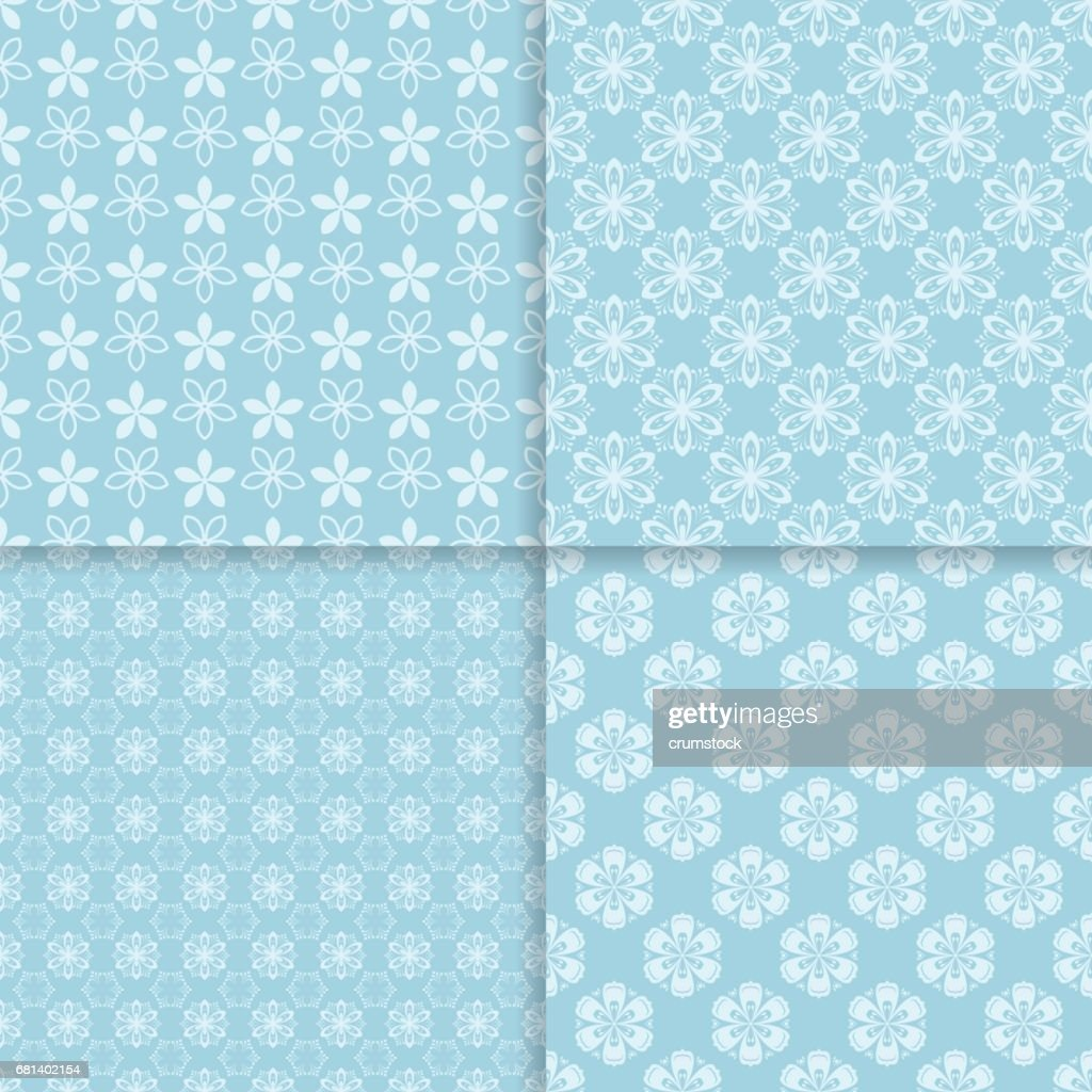 Floral seamless pattern. Abstract background