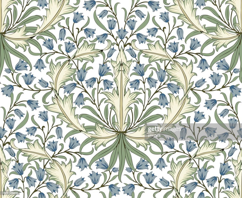 Floral seamless pattern for your design.