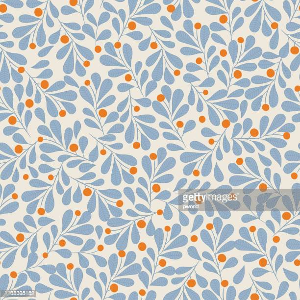 illustrazioni stock, clip art, cartoni animati e icone di tendenza di floral seamless pattern . - motivo ornamentale