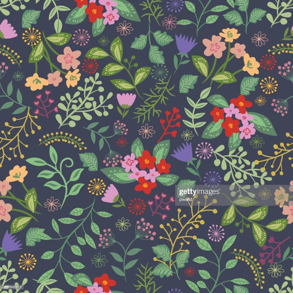 Floral seamless pattern . : Vector Art